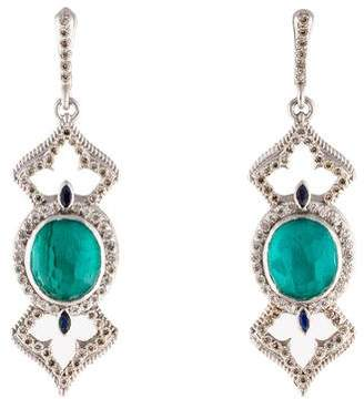 Armenta New World Diamond & Multistone Earrings