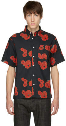 Saturdays NYC Black Bruce Floater Shirt