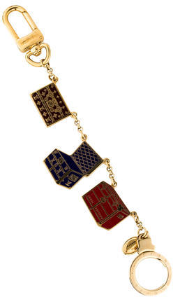 Louis Vuitton Louis Vuitton Porte Cles Malle Chaine Keychain