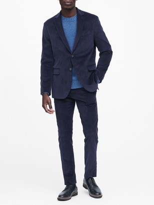 Banana Republic Slim Italian Corduroy Suit Jacket