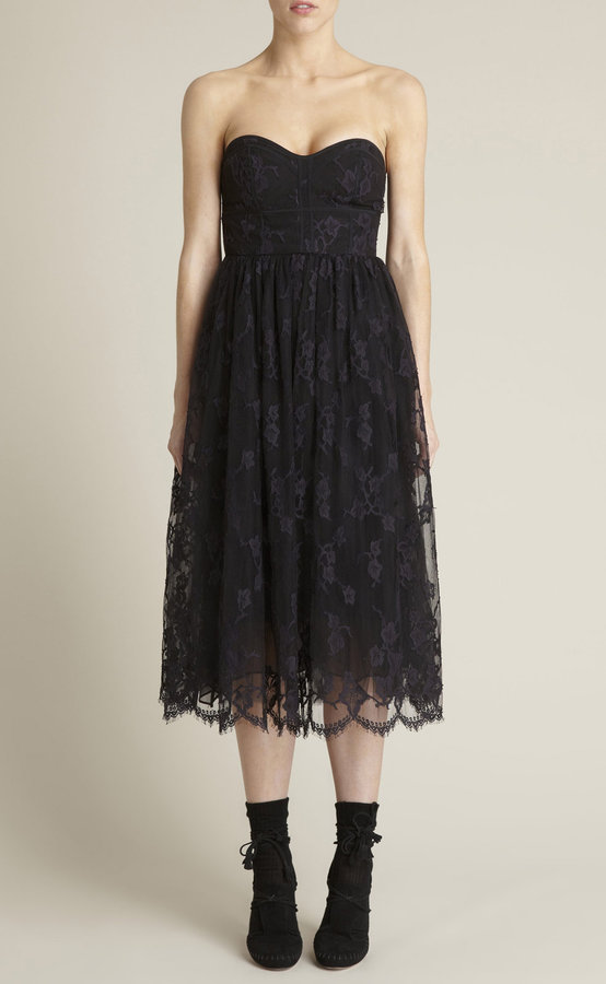 Lace Tulle Party Dress