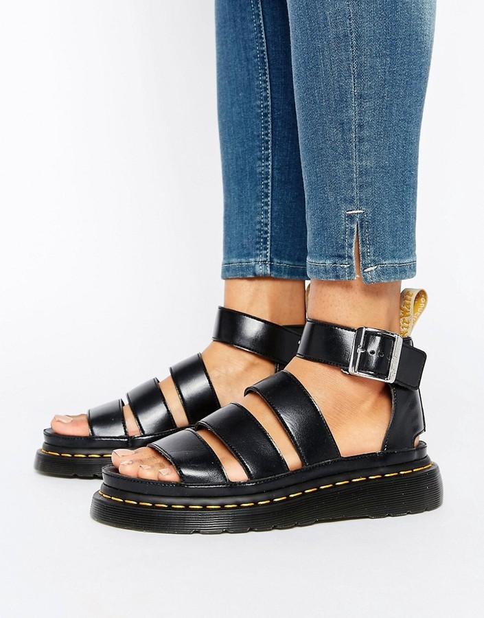 Dr. MartensDr Martens Clarissa Vegan Strappy Flat Sandals