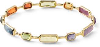 Ippolita 18k Rock Candy® Gelato 12-Stone Bangle in Fall Rainbow