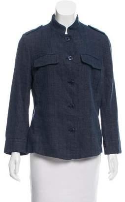 Emporio Armani Lightweight Stand Collar Jacket