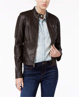 Levi's® Faux-Leather Biker Jacket $180 thestylecure.com