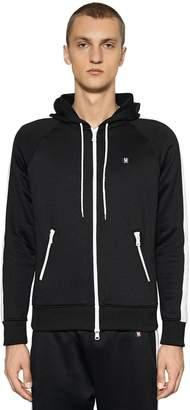 Ami Alexandre Mattiussi Hooded Zip-Up Cotton Blend Sweatshirt