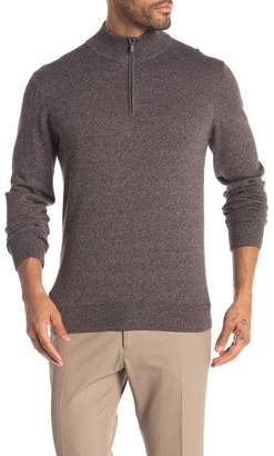 WALLIN & BROS Quarter Zip Long Sleeve Sweater