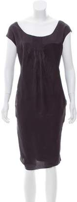 Rochas Silk Shift Dress