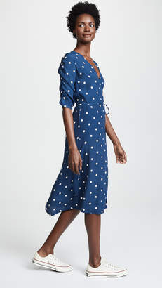 Faithfull The Brand Anne Marie Midi Dress
