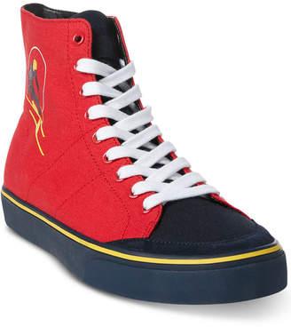 Polo Ralph Lauren Men's Solomon Ski-Patch Sneakers, Created for Macy's Men's Shoes