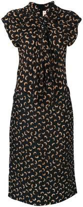 Marni draped tea dress