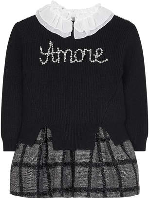 Mayoral Girl's Convertible Amore Dress, Size 4-7
