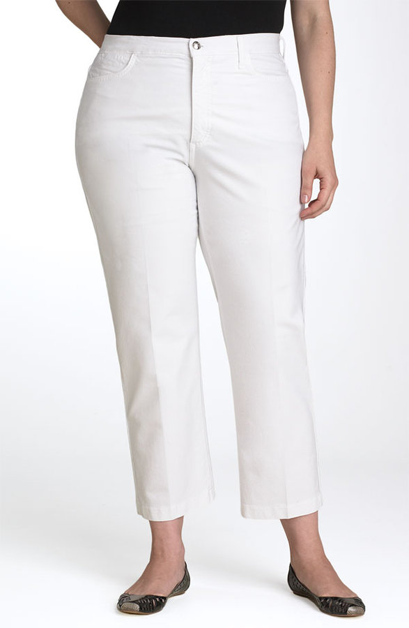 Not Your Daughter's Jeans® 'Audrey' Tummy Tuck® Ankle Length Jeans (Plus)
