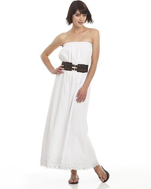 "Joie Sunny Hills"" Strapless Maxi Dress"