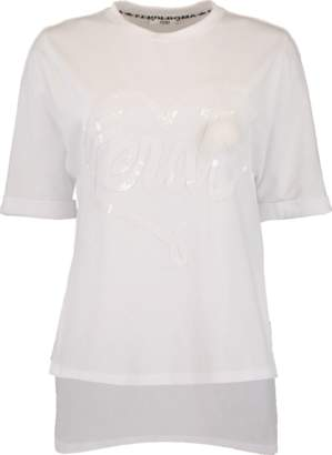 Fendi Split Side T-Shirt