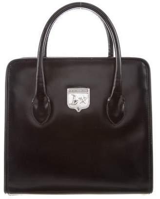 Kieselstein-Cord Smooth Leather Satchel