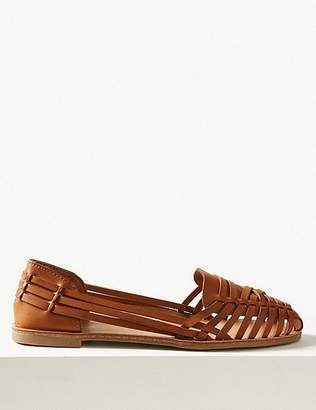 Marks and Spencer Woven Pumps