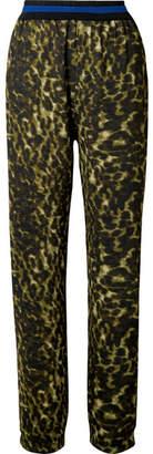 Stella McCartney - Leopard-print Jersey Pants - Leopard print