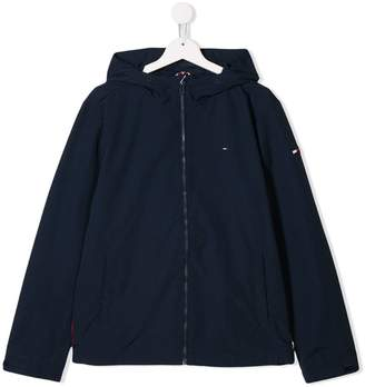 Tommy Hilfiger Junior hooded zip-up jacket