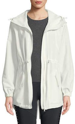 Cushnie et Ochs Ophilie Hooded Zip-Front Anorak Jacket