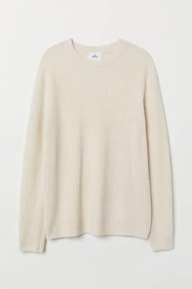 H&M Cashmere-blend Sweater - Beige