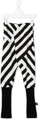 Nununu 360 striped leggings