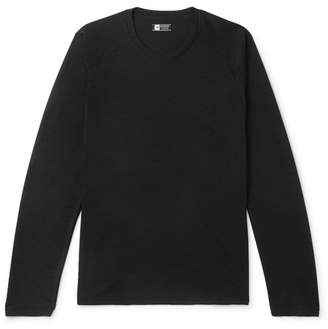 Ermenegildo Zegna Techmerino Wool And Silk-Blend T-Shirt