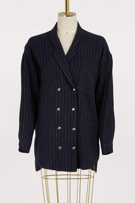 Roseanna Highway linen and wool jacket