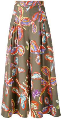 Peter Pilotto floral palazzo trousers