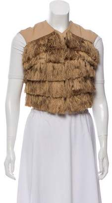 Robert Rodriguez Sleeveless Fringe Vest w/ Tags