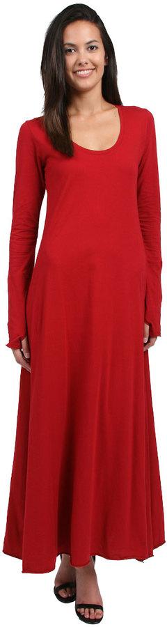 Tysa Perfect Thumbhole Dress in Wine