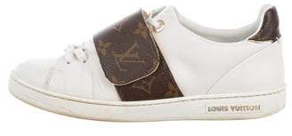 Louis Vuitton Monogram Accented Sneakers