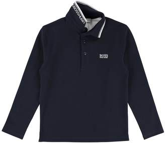BOSS Boys Classic Long Sleeve Polo