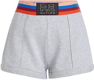 P.E Nation Starting Whistle Cotton Shorts