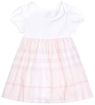 Burberry Checked Skirt Dress