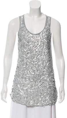 Michael Kors Sleeveless Sequin Top