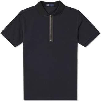 Fred Perry Authentic Zip Neck Pique Polo