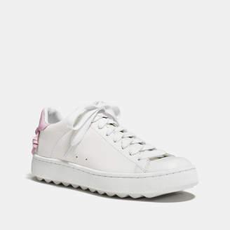 Coach C101 Low Top Sneaker $195 thestylecure.com