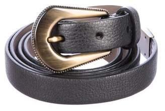 Brunello Cucinelli Leather Waist Belt w/ Tags