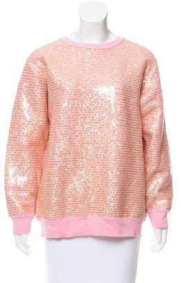 Ashish Sequined Crew Neck Sweatshirt