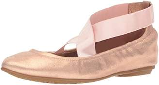 Taryn Rose Women's Edina Powder Metallic Ballet Flat