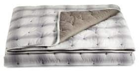 Martha Stewart Plaid Mist Cotton Quilt