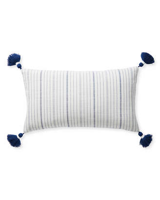 Serena & Lily Surf Stripe Pillow Cover