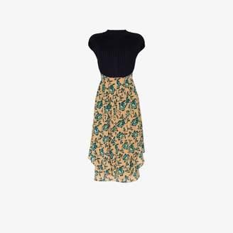 Chloé floral print mid-length dress