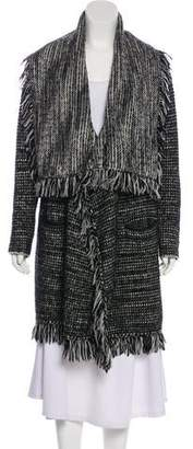 Vince Wool Open Front Cardigan