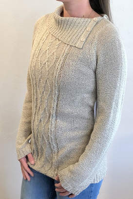 Keren Hart Loose-Knit Oatmeal Sweater