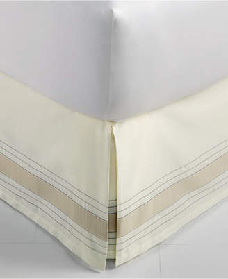 Hotel Collection CLOSEOUT! Woven Accent Queen Bedskirt, Created for Macy's