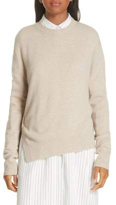 Vince Asymmetrical Cashmere Sweater