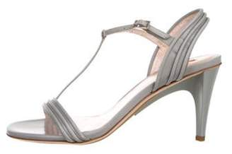 Calvin Klein Collection Bea Leather T-Strap Sandals w/ Tags Bea Leather T-Strap Sandals w/ Tags