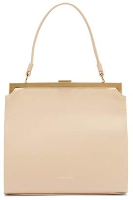 Mansur Gavriel Elegant Leather Bag - Womens - Beige